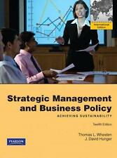 Strategic Management and Business Policy (International Edition)