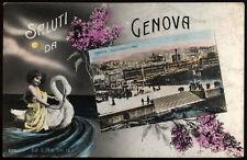 cartolina GENOVA saluti da..