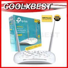 TP-LINK TD-W9970 WIRELESS N MODEM ROUTER NBN ADSL VDSL N300 PARENT CONTROL WiFi