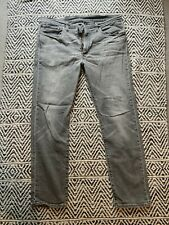 LEVIS 502 Mens Jeans Grey - W36 L32 - Used Condition