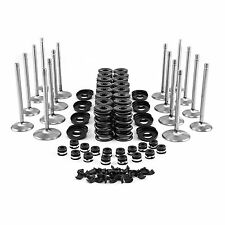 AMC Jeep 360 1970 Cylinder Head Valve Train Kit Springs+Valves+Guides+Push Rods+