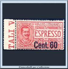 1922 Italia Regno Espresso c. 60 su 50 n. 6 Centrato **