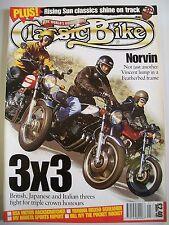 Classic Bike Magazine. No. 204. January, 1997. BSA Victor Backscratcher. Norvin.