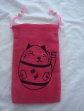 Soft Velvet mobile Pouch with Sleeve Sock & Strap For Your Mobile Phone, iPhone