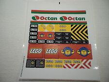 LEGO® Eisenbahn - Aufkleber ,Sticker der Bahn 7939 - NEU