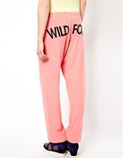 Wildfox Couture FOX TEMPO CORALLO Petalo Sudore Jogging Pantaloni S 10 38!