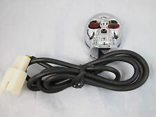 SKULL Push button Switch Red LED BAR OFF ROAD Spot Work On/Off Quality 12V 20A