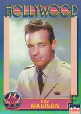 Guy Madison, Actor, Hollywood Star, Walk of Fame Trading Card --- NOT Postcard