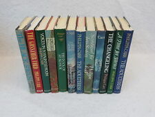 Philippa Carr LOT OF 12 DAUGHTERS OF ENGLAND SERIES G.P. Putnam's Sons HC/DJ