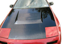 86-91 Mazda RX-7 Carbon Fiber D-1 Hood 1pc Body Kit 104230