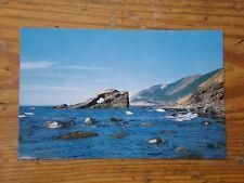 Vintage Postcard Cap Rouge Rock, Cape Breton Highlands National Park Nova Scotia