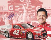 NEW! Kyle Larson 11x14 Poster Signed NASCAR RACING Target Car Photo Autographed