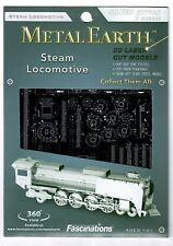 METAL EARTH STEEL MODEL KIT - STEAM LOCOMOTIVE - PACKAGED NEW & SEALED FROM UK