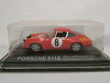 1/43 PORSCHE 911S MONTE CARLO 1970 WALDEGAARD HELMER IXO ESCALA SCALE DIECAST