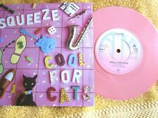 SQUEEZE...COOL FOR CATS...PINK VINYL..1979.........VG+ CON