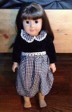 American Girl Dolls Samantha Doll Without Book W Dress Great Condition