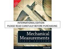 Mechanical Measurements by Roy D. Marangoni, Thomas G. Beckwith and John H., ...