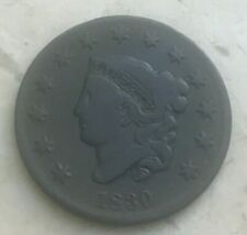 1830 Coronet Head Large Cent - N10 R5+