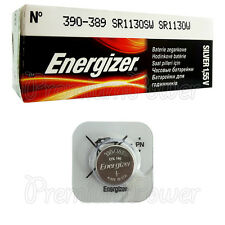 1 x Energizer Silver Oxide 390/389 battery 1.55V SR1130SW V389 SR54 EXP:2020