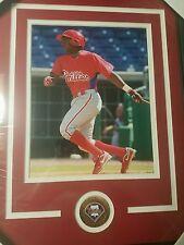 Maikel Franco Philadelphia Phillies signed plaque +coa