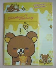 San-X Letter Sets Rilakkuma Meets Honey
