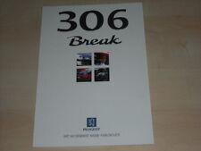 51005) Peugeot 306 Break Prospekt 06/1998