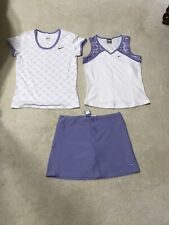 3 Piece Nike Tennis Skort Outfit Size S