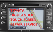 04-18 TOYOTA NAVIGATION TOUCH SCREEN GLASS Digitizer REPLACMENT REPAIR SERVICE