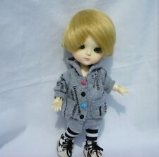 Lati Yellow Doll Outfit GRay Tee Hoody