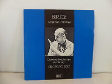 BERLIOZ Symphonie fantastique orchestre symphonique de Chicago dir SOLTI Decca