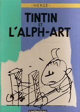 TINTIN ET L'ALPH- ART EDITION ORIGINALE