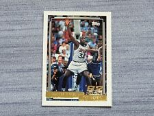 1992 - 93 Shaquille O'neal Topps Draft Pick Gold Rookie #362 HOF Magic RC