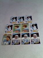 *****Doug English*****  Lot of 100+ cards.....8 DIFFERENT / Football