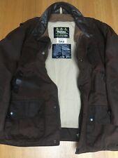 Barbour Bushman Mens XL 58in Thick Wax Countryside Hunting Jacket Excellent