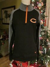 Victorias Secret Pink NFL Collection Black Gray Bears Athletic Top Jersey Size M