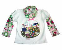 AJIDUO ♥ Baby Mädchen T-Shirt Langarm Strass ♥ Gr. 86 92 98 104 110 116 122 128