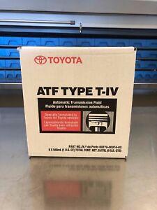 GENUINE TOYOTA LEXUS T-IV Automatic Transmission Fluid 6 PACK CASE 00279-000T4