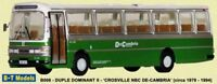 Duple Dominant II Coach - Crosville NBC 1/76 British Bus