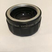 Royal Teleconvertidor 2x para adaptarse a las cámaras SLR de película de Rosca de Tornillo