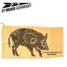 Schießsack Wildschwein Schieß - Sack ca. 54 x 102cm Jutesack 3D Ziel Bogensport