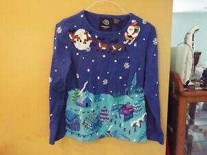 Vintage Michael Simon Christmas Sweater Size Medium