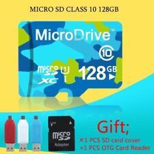 Carte Mémoire Micro SD 128 Go + Adaptateur SD + Clé USB adaptateur & micro