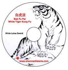 Dvd - Bak Fu Pai White Lotus Sword Dvd with Gm Doo Wai