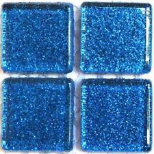 49 paillettes tuiles de Mosaïque 20mm - Galaxy Bleu