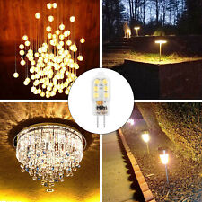 10X G4 LED Bulb Bi-pin Base 20W Halogen Bulb Replacement AC/DC12V Warm White