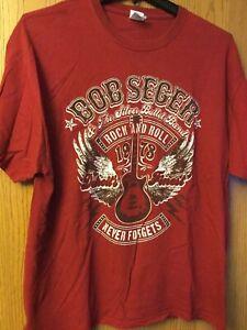 Bob Seger - Tour 2013.  Red Shirt.  XL.