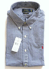 Ralph Lauren Men's Check Long Sleeve Collared Casual Shirts & Tops
