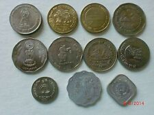 INDIA COINS -  11  GREAT  EVENTS - COMMEMORATIVE  COINS - 1979-2012 - RARE#11AF