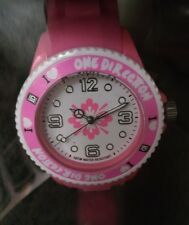 One Direction Small Pink Watch in presentation case [ONED06S] (Genuine!)