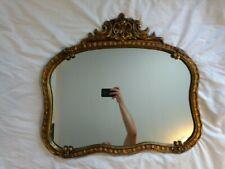 Ornate Mirror Antique Vintage Unique 28in x 25 in